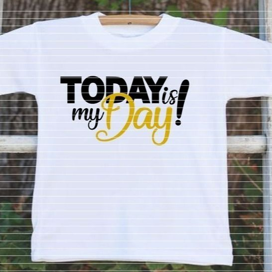 "Cutting File ""Today is my Day"" Ironing-picture SVG DXF at Makerist - Image 1"