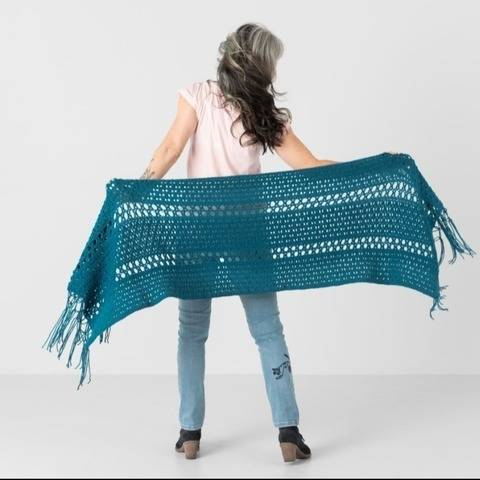 Twilight View Wrap Crochet Pattern