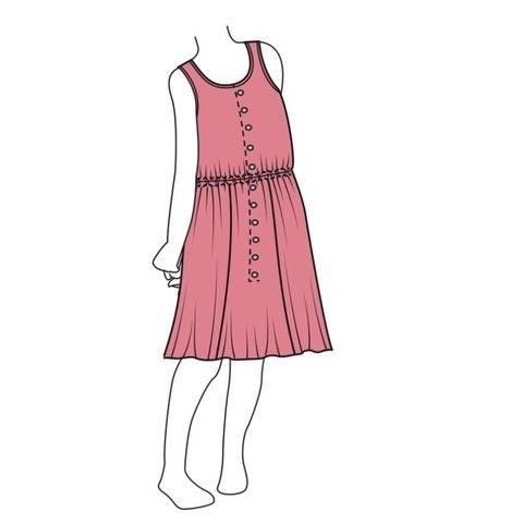 Mädchenkleid ALMMY - Gr. 104 - 158