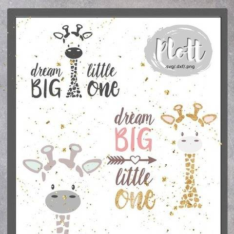 Plottdesign - Dream BIG little one