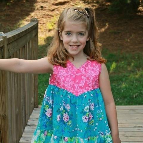 Dolsa Dress Sizes 2T - 10Years at Makerist