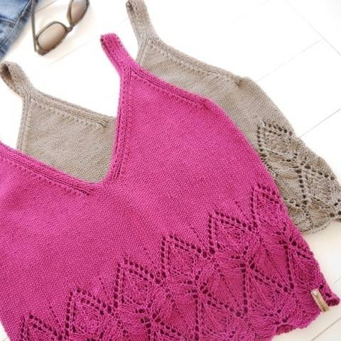 Knitting Pattern - Knit Top ELLA - No.222E