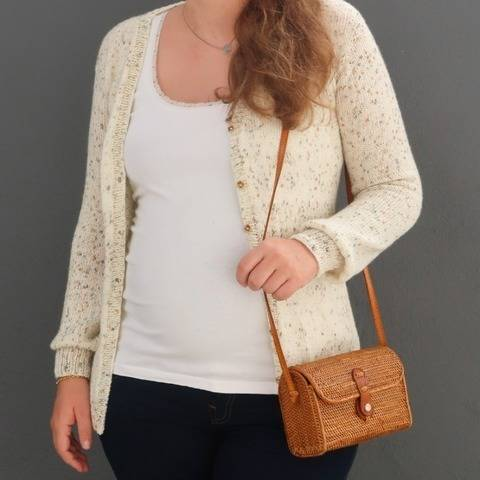 Knit cardigan pattern for women, cardigan knitting pattern