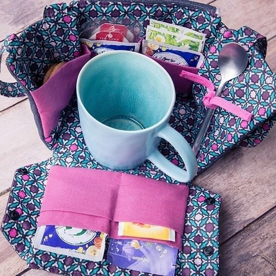 La box à thé ou café Lily chez Makerist - Image 1