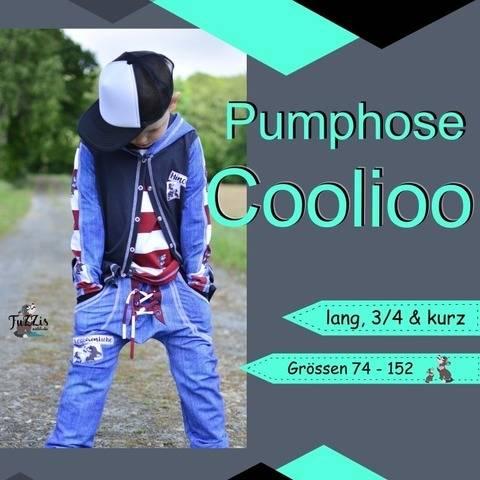 """Pumphose """"Coolioo"""" - kurz, 3/4 lang & lang"""