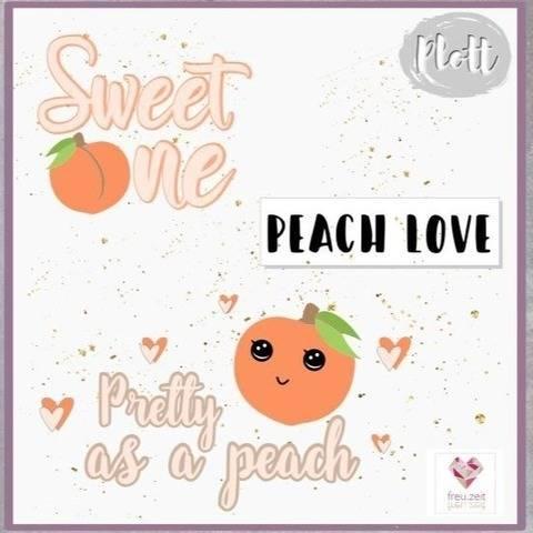 Plottdesign - Peach Love