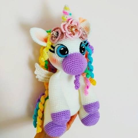 Unicorn crochet pattern,amigurumi unicorn pattern