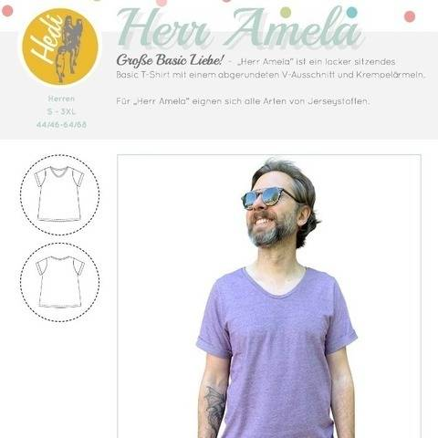 "eBook T-Shirt ""Herr Amela"""