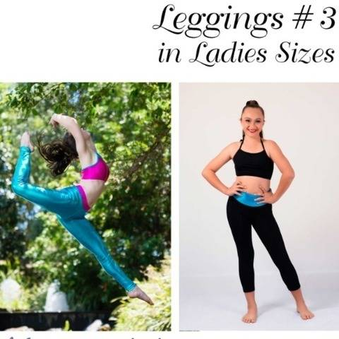 Leggings 3 Womens Sizes PDF Sewing Pattern