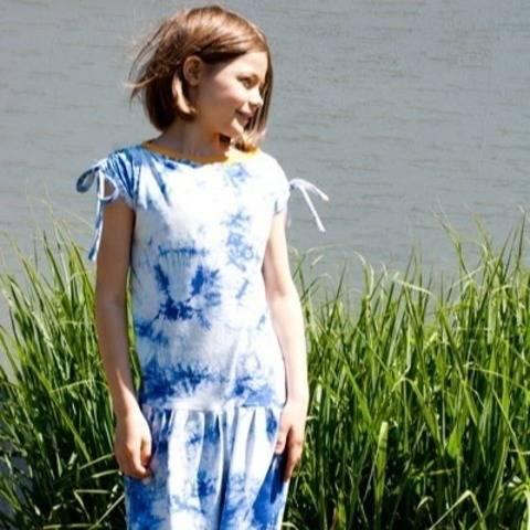 Mädchen-T-Shirt LOLITA -  Schnittmuster Gr. 134-164