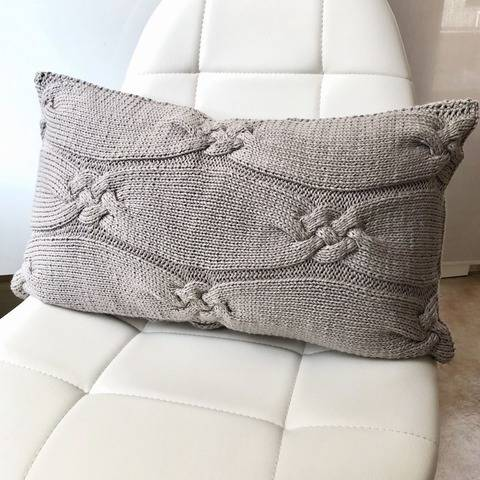 Knitting Pattern - Cushion Cover ABBY - No.234E
