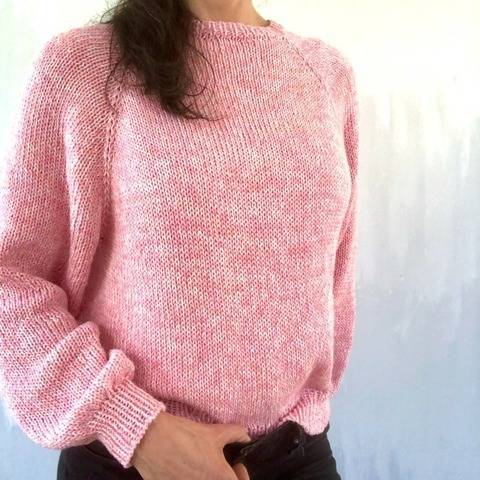 Knitting Pattern - Sweater JOSY - No.235E