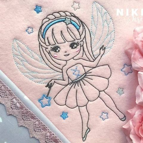 "Stickdatei ""Little Fairy"" 13*18"
