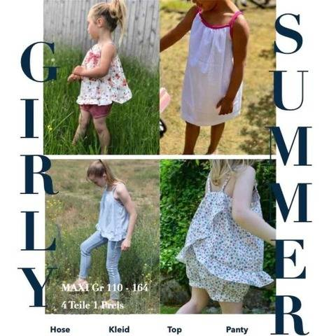 GIRLY SUMMER Set Maxi Gr 110 - 164