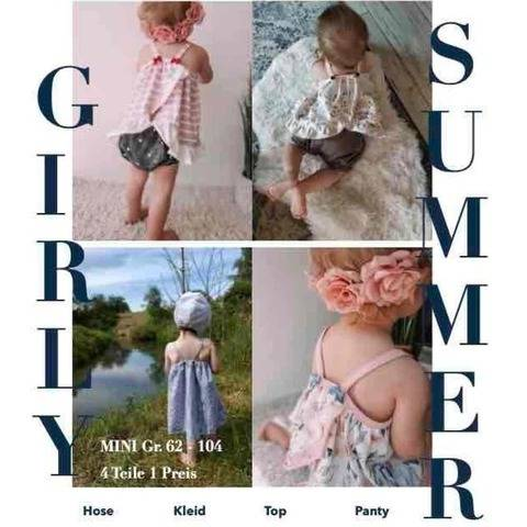 GIRLY SUMMER Set Mini Gr 62 - 104