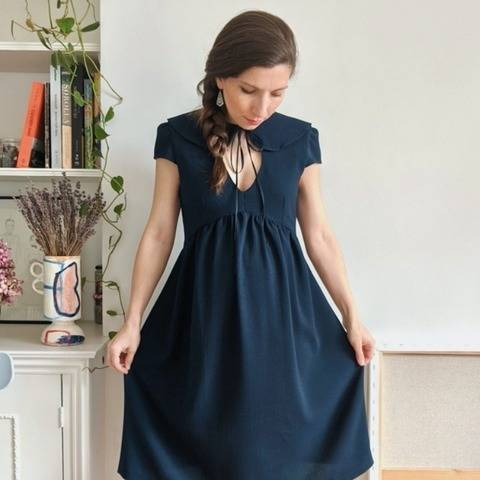 Dress and blouse pattern – PDF pattern - Paulette