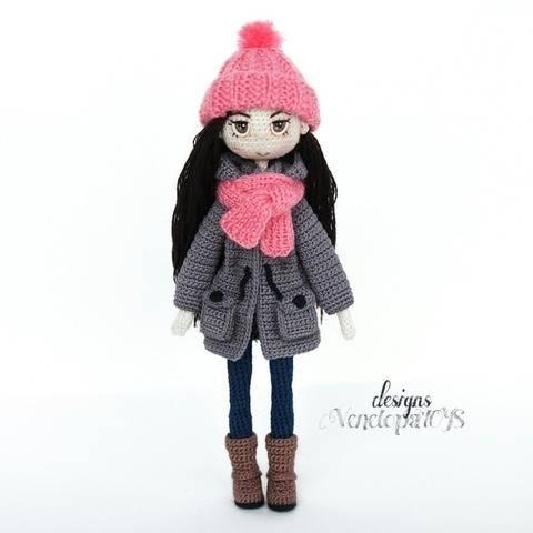 Amigurumi Crochet Doll Vanessa