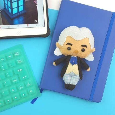 The 1st Doctor Who Doll Pattern