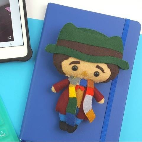 The 4th Doctor Who Doll Pattern