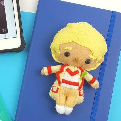 The 5th Doctor Who Doll Pattern