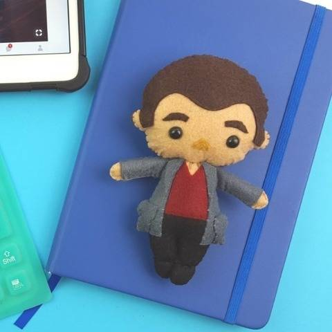 The 9th Doctor Who Doll Pattern