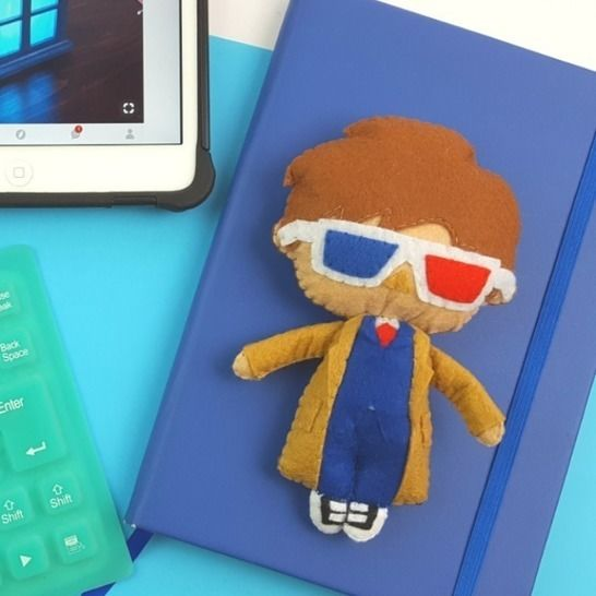 The 10th Doctor Who Doll Pattern at Makerist - Image 1