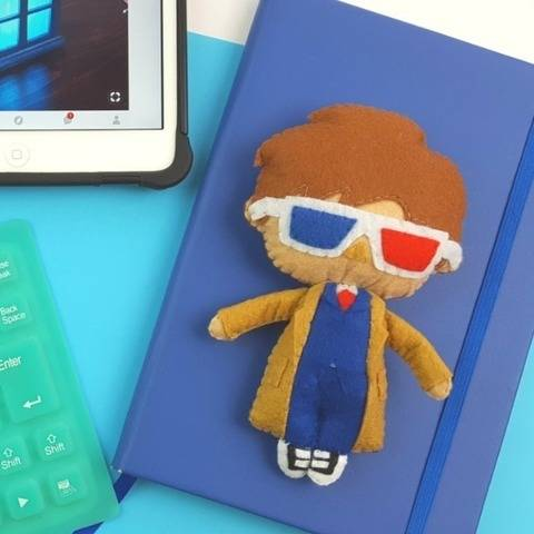 The 10th Doctor Who Doll Pattern