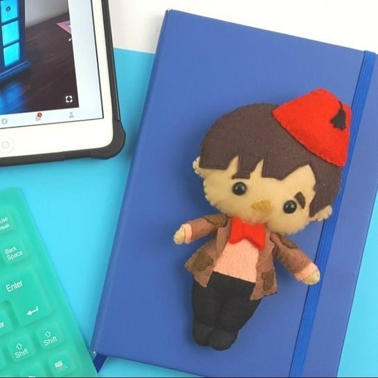 The 11th Doctor Who Doll Pattern at Makerist - Image 1