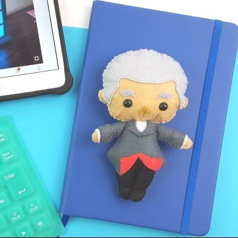The 12th Doctor Who Doll Pattern