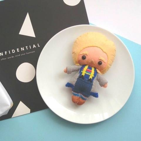 The 13th Doctor Who Doll Pattern