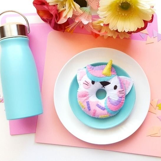 Catcorn Donuts Downloadable Sewing Pattern at Makerist - Image 1