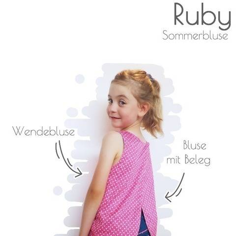 Sommerbluse Ruby bei Makerist