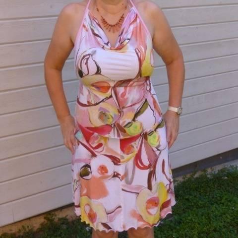 Top ou robe Marguerite T 36 à 44