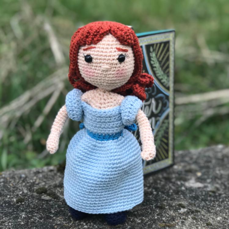 Wendy - Tuto amigurimi - Patron crochet