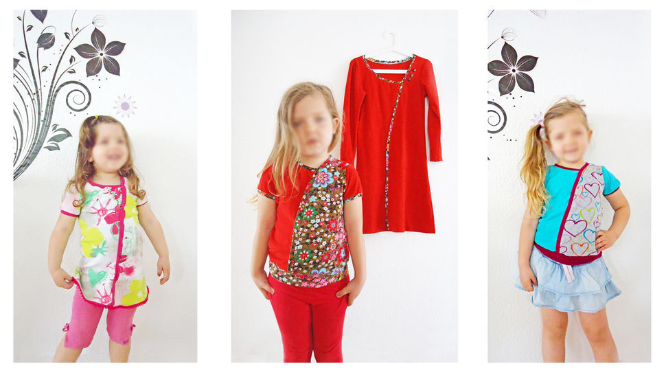Nähanleitung und Schnittmuster little Elara Mädchenshirt bei Makerist - Bild 1
