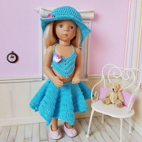 """Barbara"" crochet pattern for Minouche"