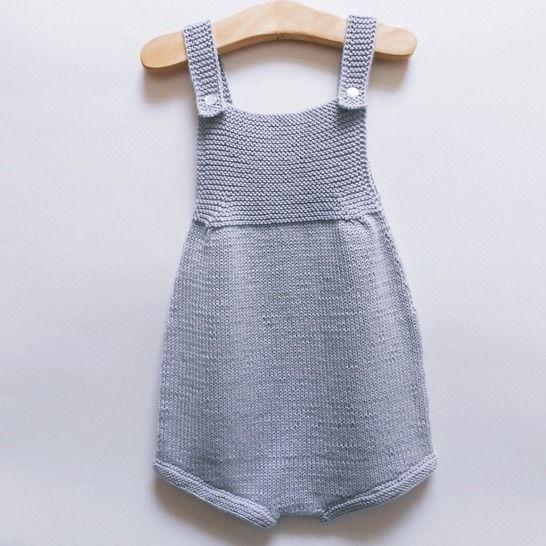 Barboteuse Perle - Tutoriel tricot chez Makerist - Image 1