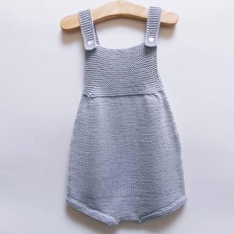 Barboteuse Perle - Tutoriel tricot