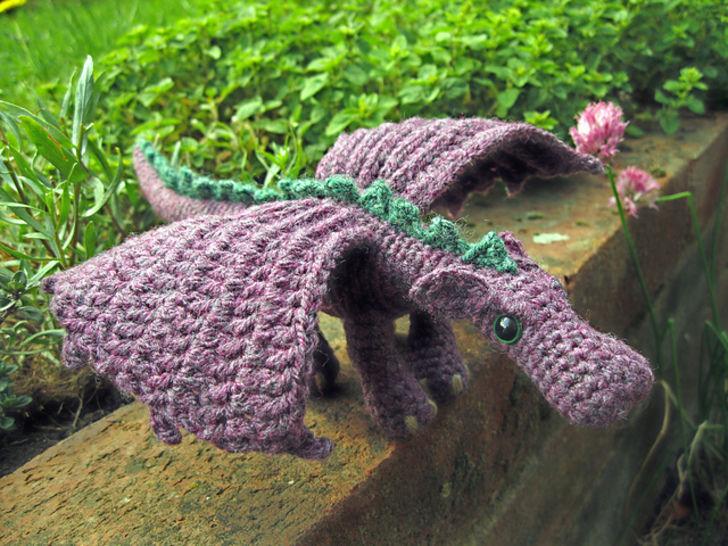 Peluche petit dragon - crochet chez Makerist - Image 1