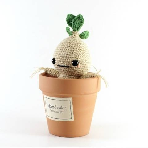 Mandrake, amigurumi  crochet pattern at Makerist