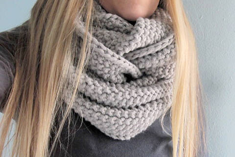 Snood Gap Tastic - tricot chez Makerist