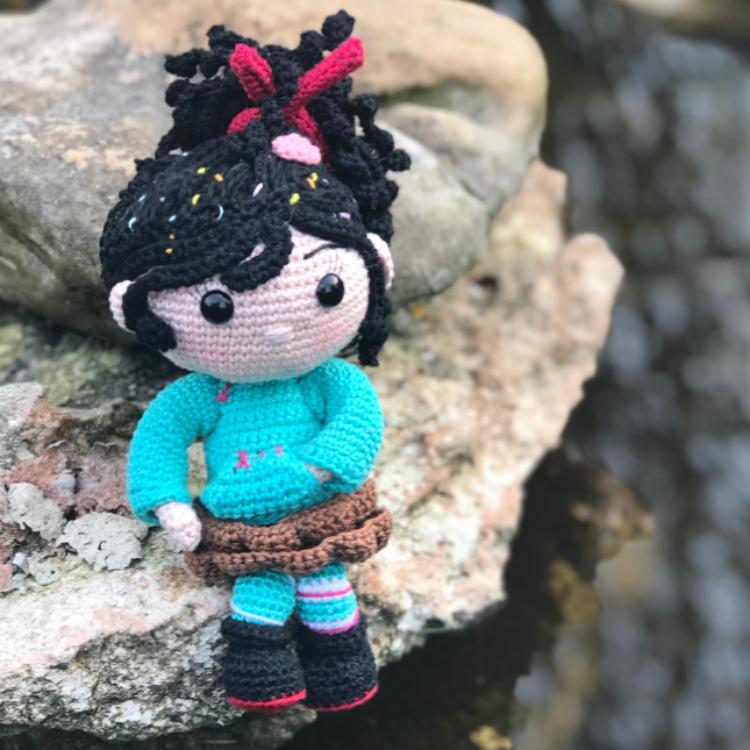 Vanelloppe - Tuto amigurimi - Patron crochet