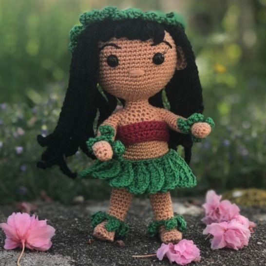 Lilo - Tuto amigurimi - Patron crochet chez Makerist - Image 1