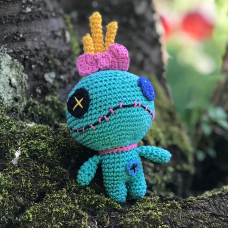 Scrump/Souillon - Tuto amigurimi - Patron crochet