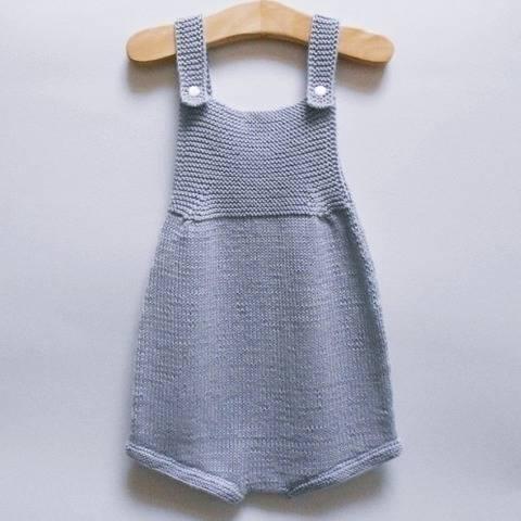 Pearl Romper - knitting pattern