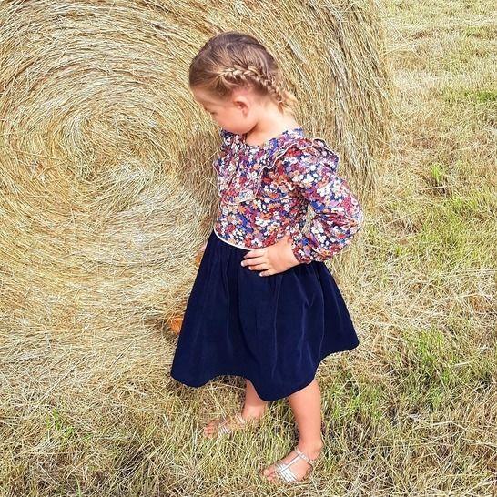 """Robe enfant """"Enora"""" du 2 ans au 12 ans chez Makerist - Image 1"""