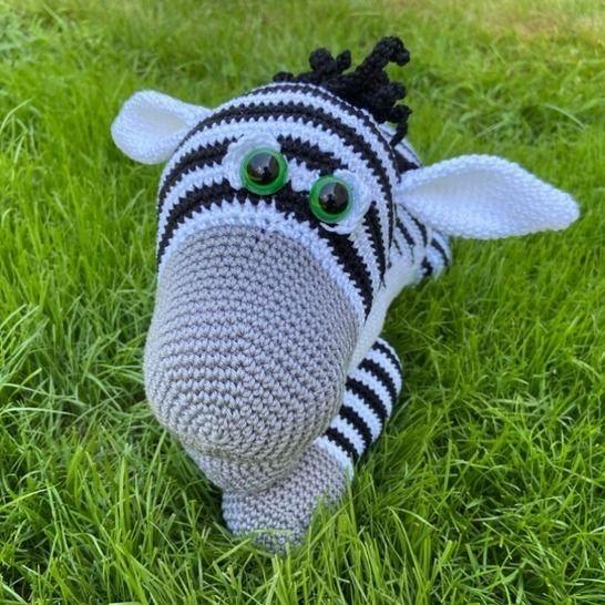 Häkelanleitung - Zino Zebra bei Makerist - Bild 1