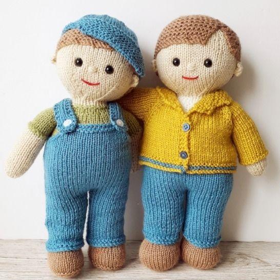 Billy and Joe dolls at Makerist - Image 1