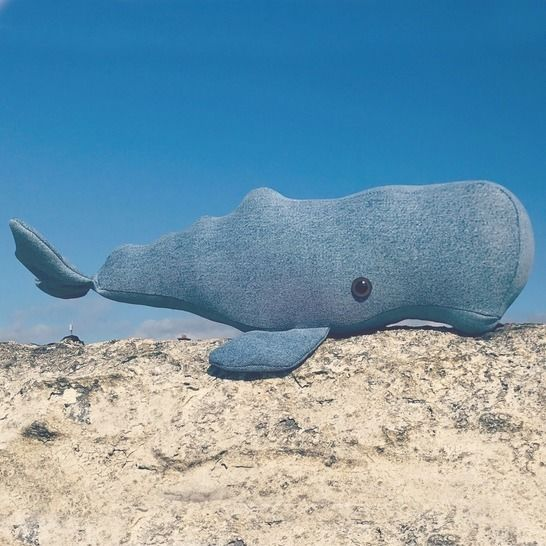 Whale - Soft toy sewing pattern - instant download pdf at Makerist - Image 1