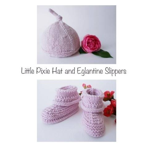 Little pixie hat and Eglantine slippers